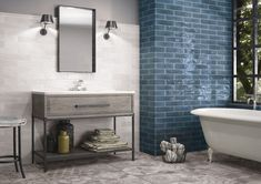75x300x8mm, Gloss Pressed Edge Glazed Ceramic. Made in Spain. Wall Only. V2. 2mm Joint Recommended Gorgeous Bathroom, New Toilet, Bathroom Trends, Silver Bathroom, Small Bathroom Decor, Bathroom Wall Tile, Small Bathroom, Bathroom Decor, Beautiful Bathrooms