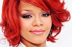 Red Hair Color for Your Skintone Hair Color For Dark Skin, Hair Color For Black Hair, Cool Hair Color, Best Red Hair Dye, Dyed Red Hair, Hair Styles 2014, Medium Hair Styles, Short Hair Styles, Rihanna Hairstyles