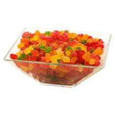 Sunt moi. Sunt gumosi. Sunt colorati. Si explodeaza cu diferite arome delicioase. Nu se  compara nimic cu deliciosul gust al ursuletilor gumosi, un jeleu ce a devenit popular in intreaga lume datorita personalitatii si gustului delicios de fructe.