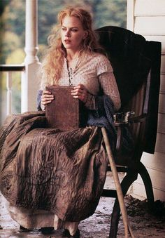 "Cold Mountain: ""I can talk about farming in Latin. I can read French. I can lace up a corset, God knows. I can name the principal rivers in Europe, just don't ask me to name one stream in this county! I can embroider, but I can't darn! I can arrange cut flowers but I can't grow them! If a thing has a function, if I might *do* something with it, then it wasn't considered suitable!..this fence is about the first thing that I've ever done that might produce an actual result."""