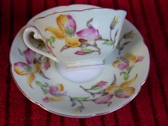 Occupied Japan teacup and saucer Early 1940s