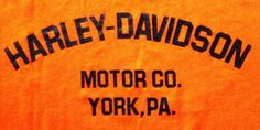 H-D Museum in York, PA 80's back