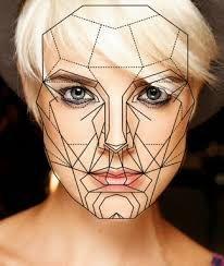 Image result for imagem de rosto com simetrias