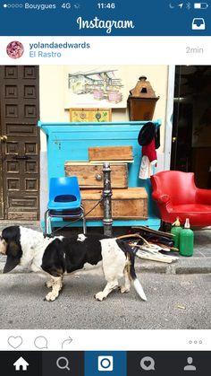 El Rastro, marché aux puces du dimanche à Madrid