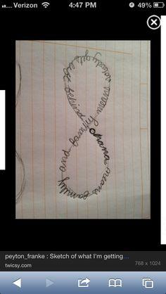 Ohana tattoo!! Eventually I will get something similar