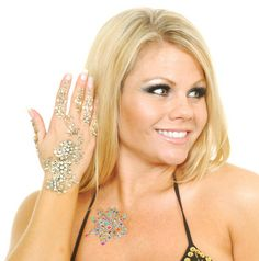 Moondance, Bellydance Hand jewels $8.99 for 1