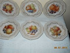 Shop for on Etsy, the place to express your creativity through the buying and selling of handmade and vintage goods. Mixed Fruit, Bavaria, Decorative Plates, Porcelain, China, Dessert, Handmade Gifts, Tableware, Etsy