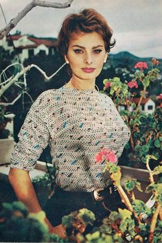 Sophia Loren  --Gifted talent--Looks exceptional