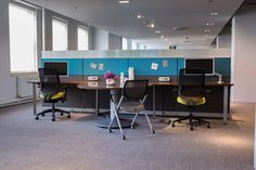 Allsteel Involve Desking and Access Seating