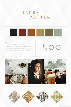 EmptyFantasies' Character Mood Boards - 7/?  Harry Potter - Harry Potter Series