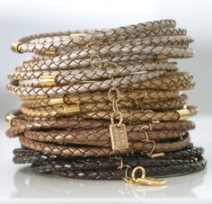The look of leather and gold.  http://www.inaccessory.com/2010/03/designer-spotlight-hagar-satat-leather-metal-jewelry/