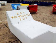#euroart #museumsquartier Vienna, Container, Cool Stuff