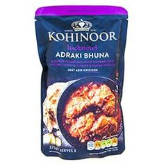 Buy Lucknowi Adraki Bhuna Curry Sauce online from Spices of India - The UK's leading Indian Grocer. Free delivery on Lucknowi Adraki Bhuna Curry Sauce - Kohinoor (conditions apply). Curry Sauce, Free Delivery, Conditioner, Spices, How To Apply, Indian, Foods, Stuff To Buy, Food Food