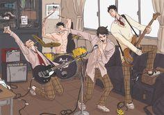 (5) 【HQ!!】バンドごっこ