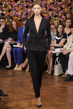 Alex Yuryeva in Christian Dior Fall Couture 2012