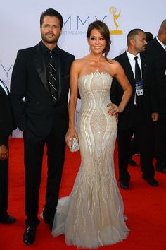 David Charvet and Brooke Burke Charvet - 64th Annual Primetime Emmy Awards