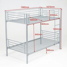 Metal Bunk Beds Frame