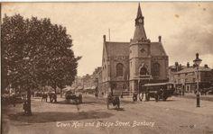 Banbury, Town Hall & Bridge Street. | eBay