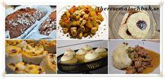 Godis Sambal Oelek, Curry, Tzatziki, Pavlova, Coleslaw, Rice Krispies, Chutney, Bacon, Mango