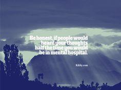 Your sick mind :D