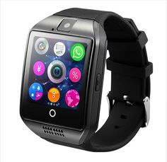 Cheap smart watch phone, Buy Quality watch phone directly from China smart watch Suppliers: Business Sports Smart Watch Phone with Touch Screen Camera Bluetooth Smartwatch for iPhone IOS for Samsung Android PK Sport Watches, Watches For Men, Wrist Watches, Women's Watches, Fashion Watches, Unique Watches, Sport Cardio, Bracelet Intelligent, Android