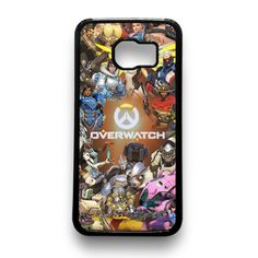 Overwatch Characters Samsung Galaxy Case