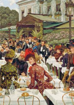 James Tissot - Le signore dell'artista, 1885