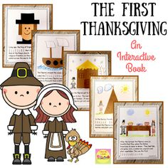 The story of the first Thanksgiving is always popular during the month of November. Your students will love this printable book with it's interactive activities and crafts. This non fiction lesson will fit in perfectly with your History and Social Studies lessons this fall!