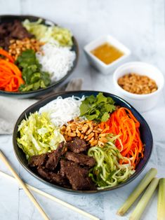 Bun Bo Nam Bo, Gluten Free, Ethnic Recipes, Food, Asia, Glutenfree, Essen, Sin Gluten, Meals