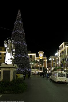 Christmas, Sorrento, Italy Christmas In The City, Christmas And New Year, All Things Christmas, Christmas Lights, Christmas Time, Sorrento Italy, New Years Eve, Bella, Places To Go