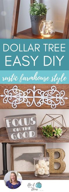 Dollar tree diy *wows* wrought iron decor & more! Diy Home Decor Rustic, Diy Home Decor Easy, Cheap Home Decor, Farmhouse Decor, Farmhouse Ideas, Modern Farmhouse, Farmhouse Style, Tuscan Decor, Dollar Tree Gifts
