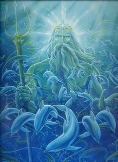 Enki, the Sumerian god of wisdom, magic, water and replenishment.