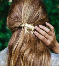 Party Animal Elephant Hair Barrette by Elizabeth Heard on Scoutmob