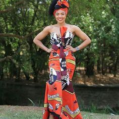 Best Afro Fusion Ankara Styles: See The Latest Trends - Wedding Digest Naija African Bridesmaid Dresses, African Wedding Attire, African Attire, African Dress, African Wear, African Clothes, African Outfits, African Fashion Designers, Latest African Fashion Dresses