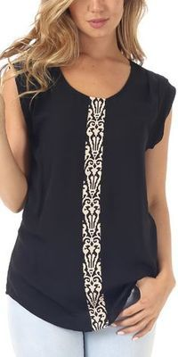 interesting idea to spice up a boring top..
