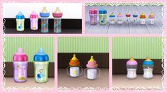 mamadeiras decorativas para ts4 lenasims | Lena Sims
