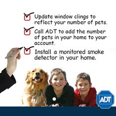 Today, we recognize National Pet Fire Safety Day. Is your home #pet proof? #ADTNews #PetSafety #FireSafety #Pets #PetOwners
