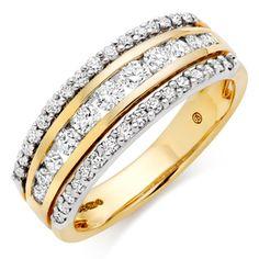 18ct Gold Diamond Half Eternity Ring Full Eternity Ring, Eternity Ring Diamond, Eternity Bands, Diamond Rings, Diamond Cuts, Dress Rings, Types Of Rings, Gold Bands, Luxury Jewelry