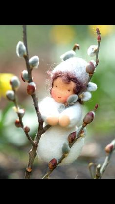 Pussy willow fairy
