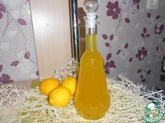 """Итальянский лимонный ликер """"Лимончелло"""" - кулинарный рецепт"""