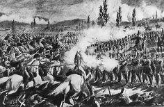 The Battle of Segesvár (Transylvania, now Sighişoara, Romania) was a battle in… Hungary History, Revolutionaries, Homeland, Romania, Austria, Battle, War, Painting, Hungary