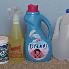 The Best EVER Homemade Carpet Cleaning Solution for Machines @keyingredient