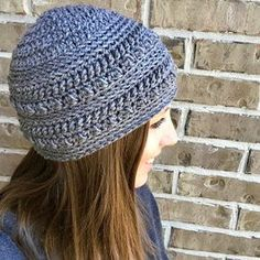 """Crochet Hat FREE Crochet Pattern: The """"Oh So Textured"""" Beanie - I love textured beanies! The feel, the look, the style, everything! This is my first original pattern, so I can't wait to see all of the beautiful hats you create! Crochet Adult Hat, Knit Or Crochet, Crochet Scarves, Crochet Crafts, Free Crochet, Crochet Baby, Crochet Clothes, Crochet Projects, Booties Crochet"""