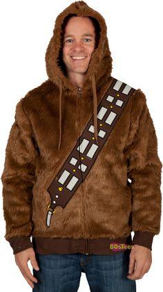 Chewbacca Fur Hoodie