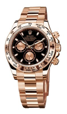 ROLEX Daytona Rose-Gold... why do i have such expensive taste? =(