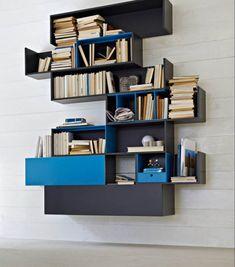 Modular Shelving Systems by Rodolfo Doldoni, Modern Wall Decoration Ideas