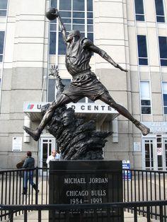 Michael Jordan statue - United Center