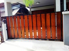 30+ Model Desain Pagar Kayu Minimalis Modern Ideas | Fence Design, Gate  Design, Wood Fence Design