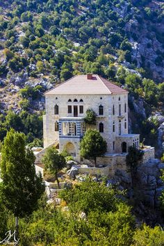 Tannourine via pictures from lebanon