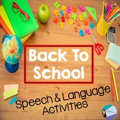 back to school speech and language activities -repinned by @PediaStaff – Please Visit ht.ly/63sNt for all our pediatric therapy pins